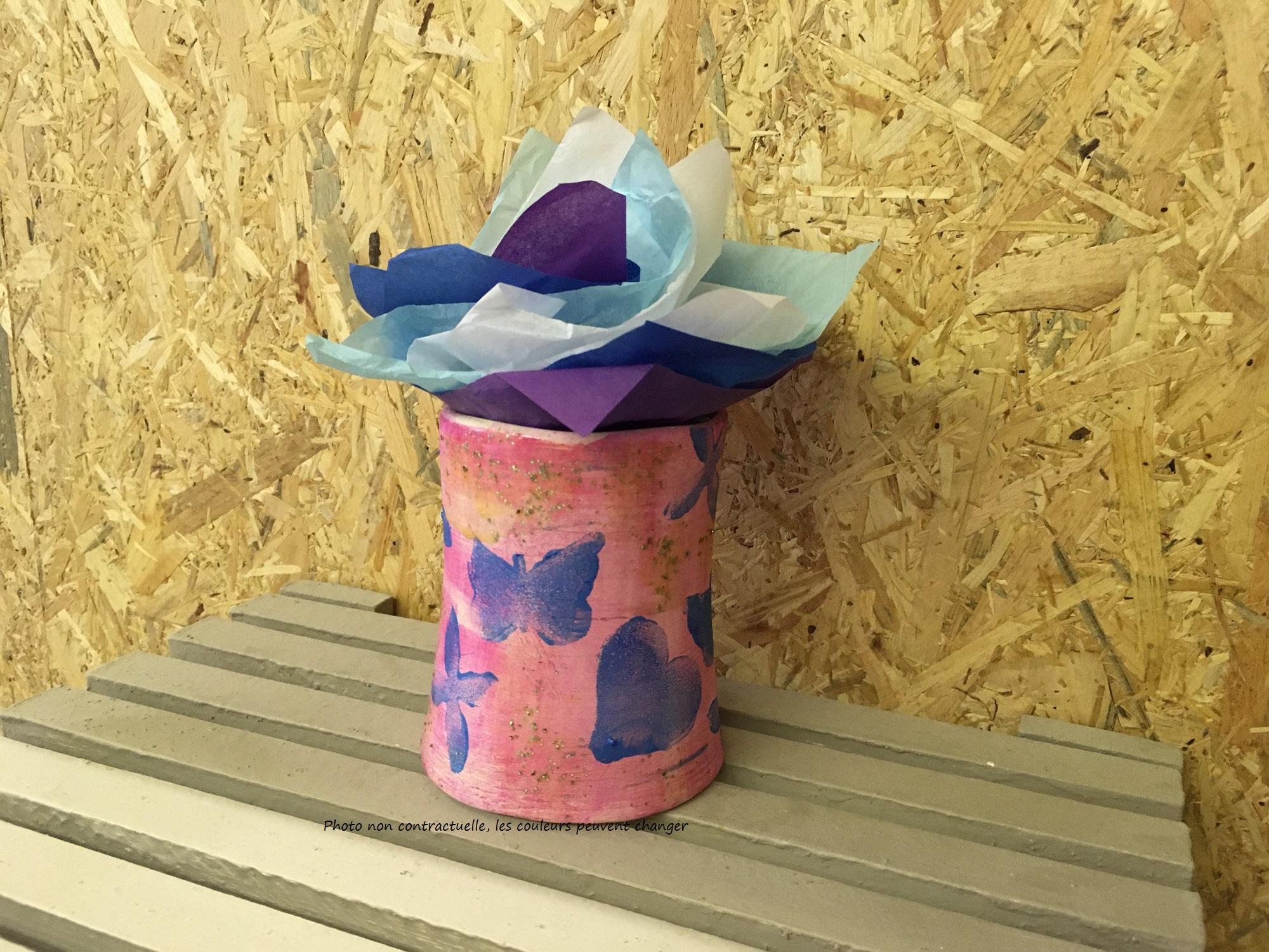 vase pour la fête des grands-mères